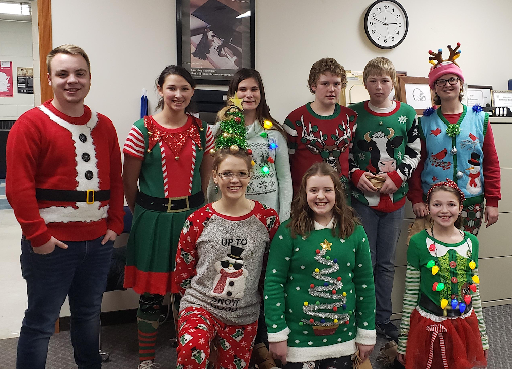 Congrats to our ugly sweater contest winners!!